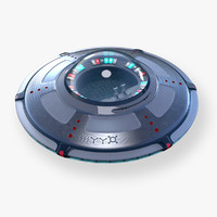 ufo 3D models