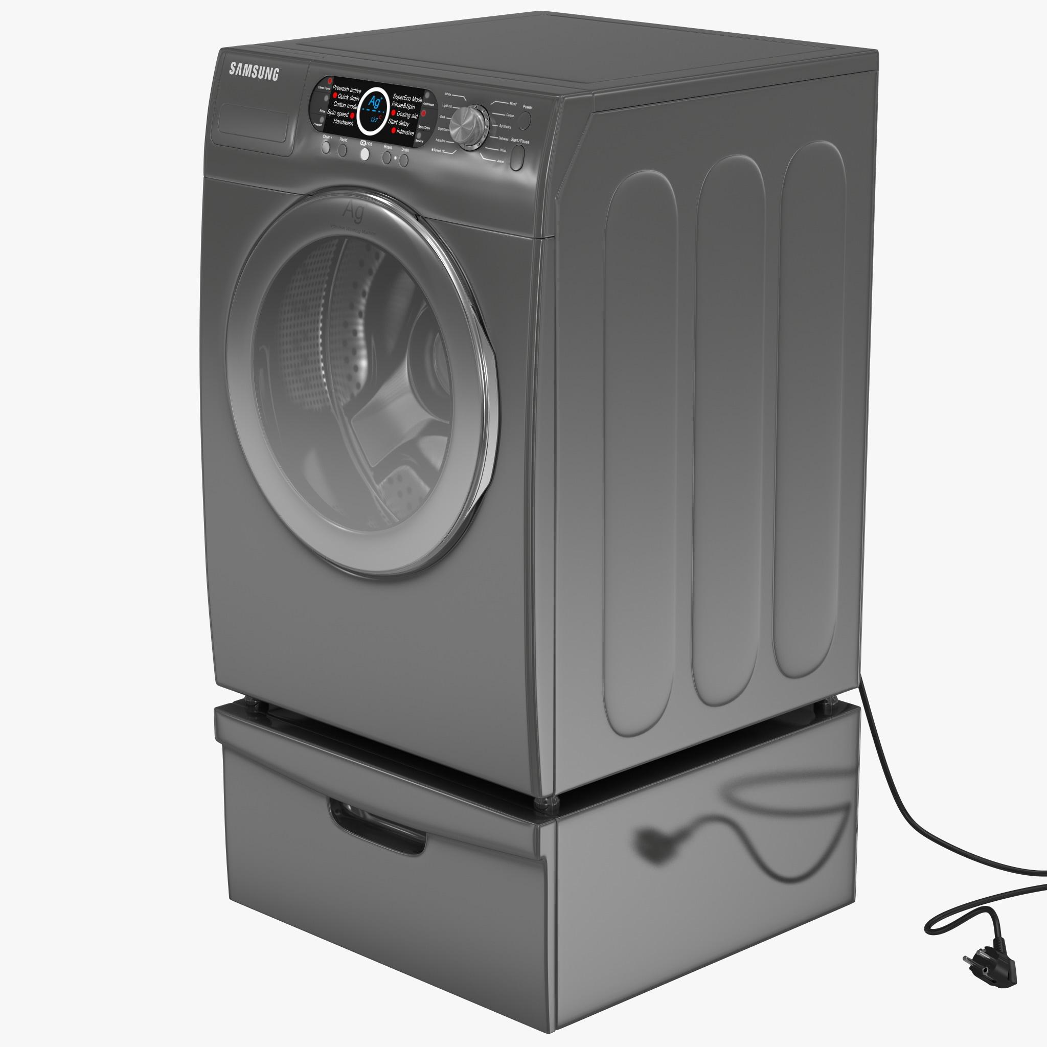 how to use samsung washing machine
