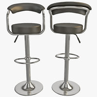 bar stool 3D models