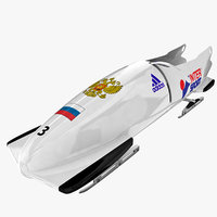 bobsleigh 3d models