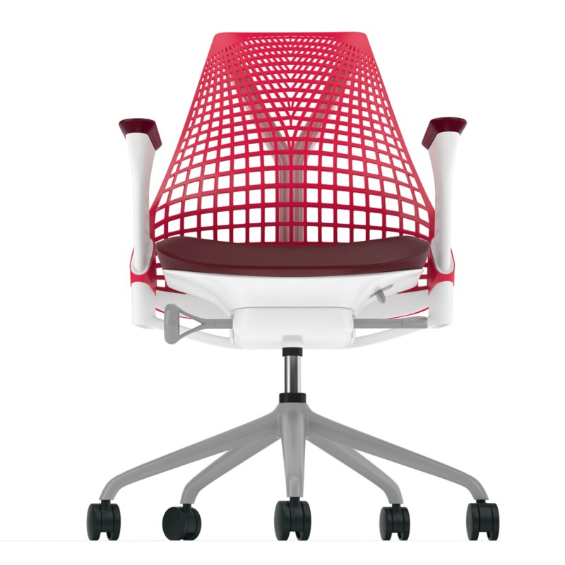 Stuhl 3d Modell Of Herman Miller Sayl Red Model