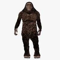 Bigfoot 3D models
