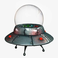 flying saucer 3D models