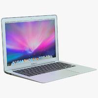 MacBook Air 3D models