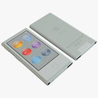 Apple iPod Nano 3D models