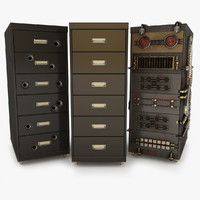 office storage 3D models