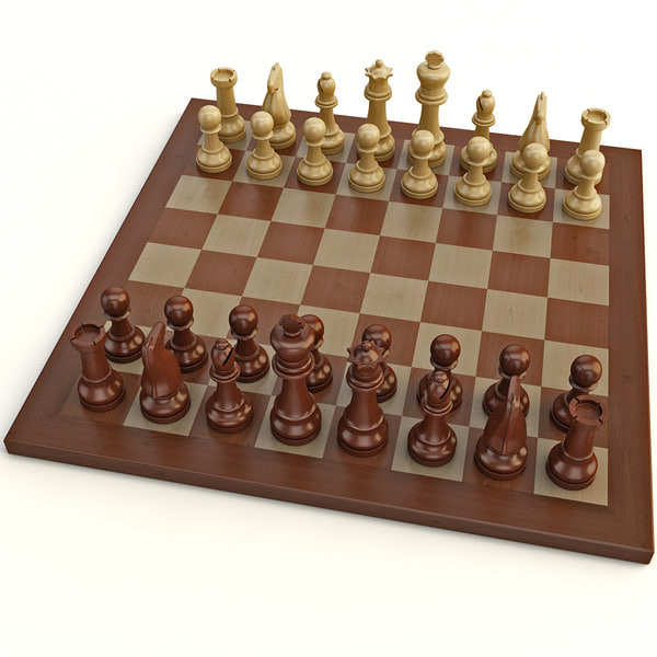 Chess 2 3D Models