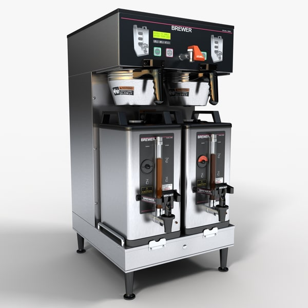 Commercial Coffee Machine 3D Models