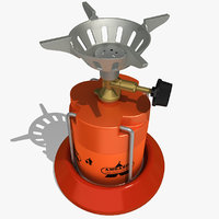 camping stove 3D models