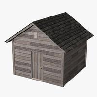 shed 3D models