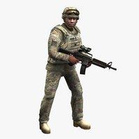 carbine 3D models