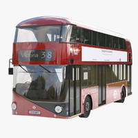 city bus 3D models