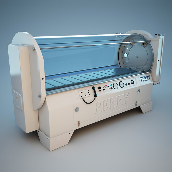 Sigma 34 Hyperbaric Medical Chamber 3D Models