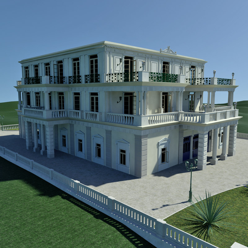 Neo-Classical Palace