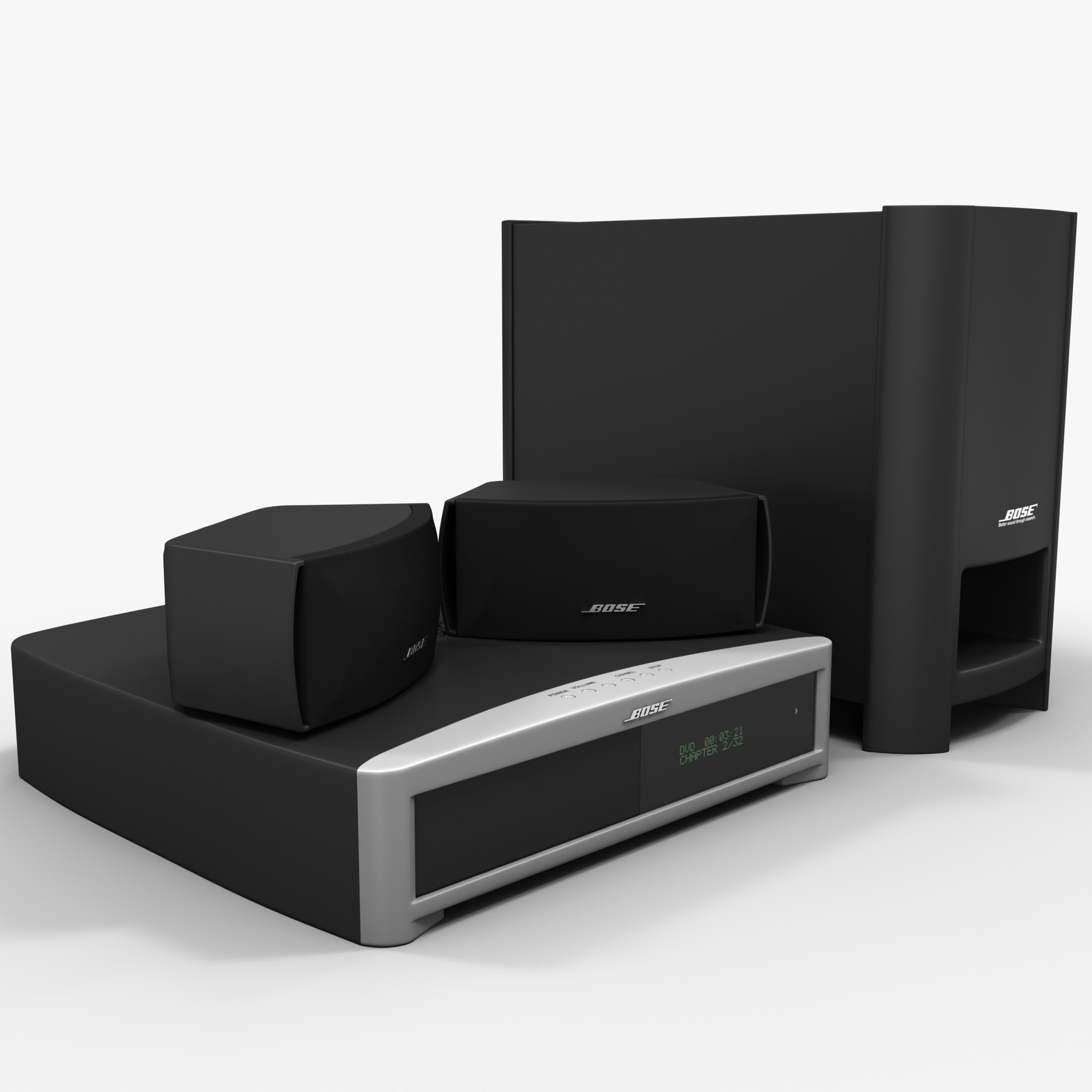 DVD Home Entertainment System Bose Graphite