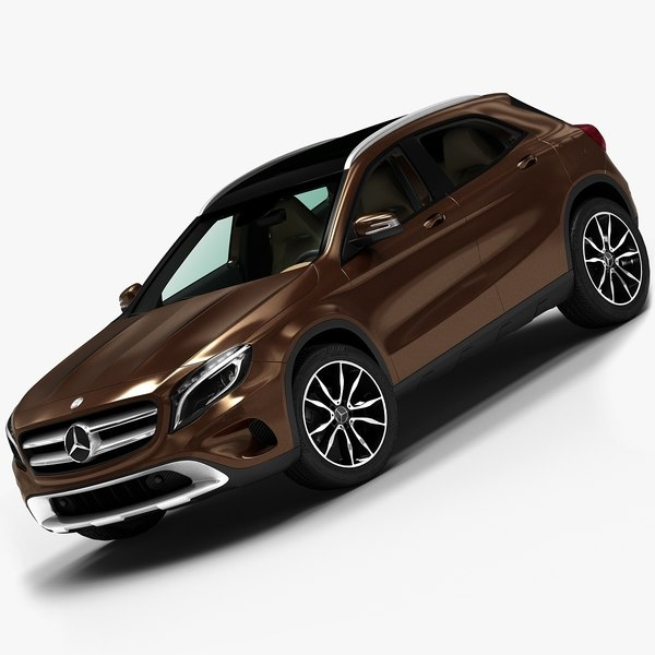 2015 Mercedes-Benz GLA 3D Models