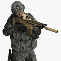 Military People 3D models