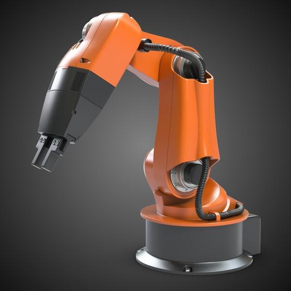 Kuka Robot Manipulator 3D Models