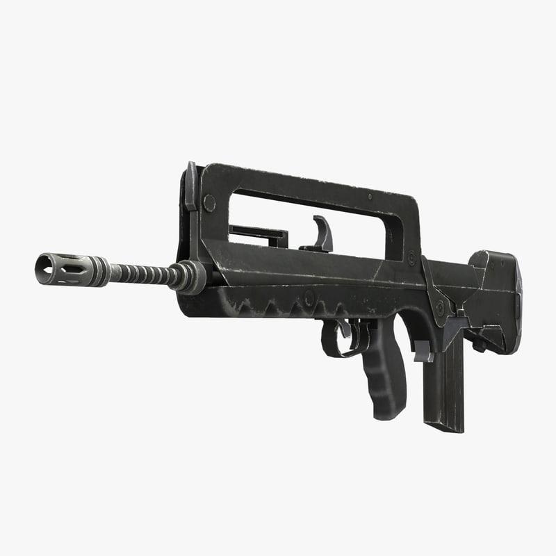 Assault Rifle FAMAS F1
