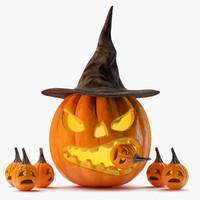halloween 3D models