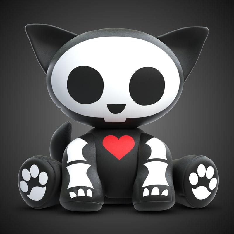 Skelanimal Kit Cat Toy