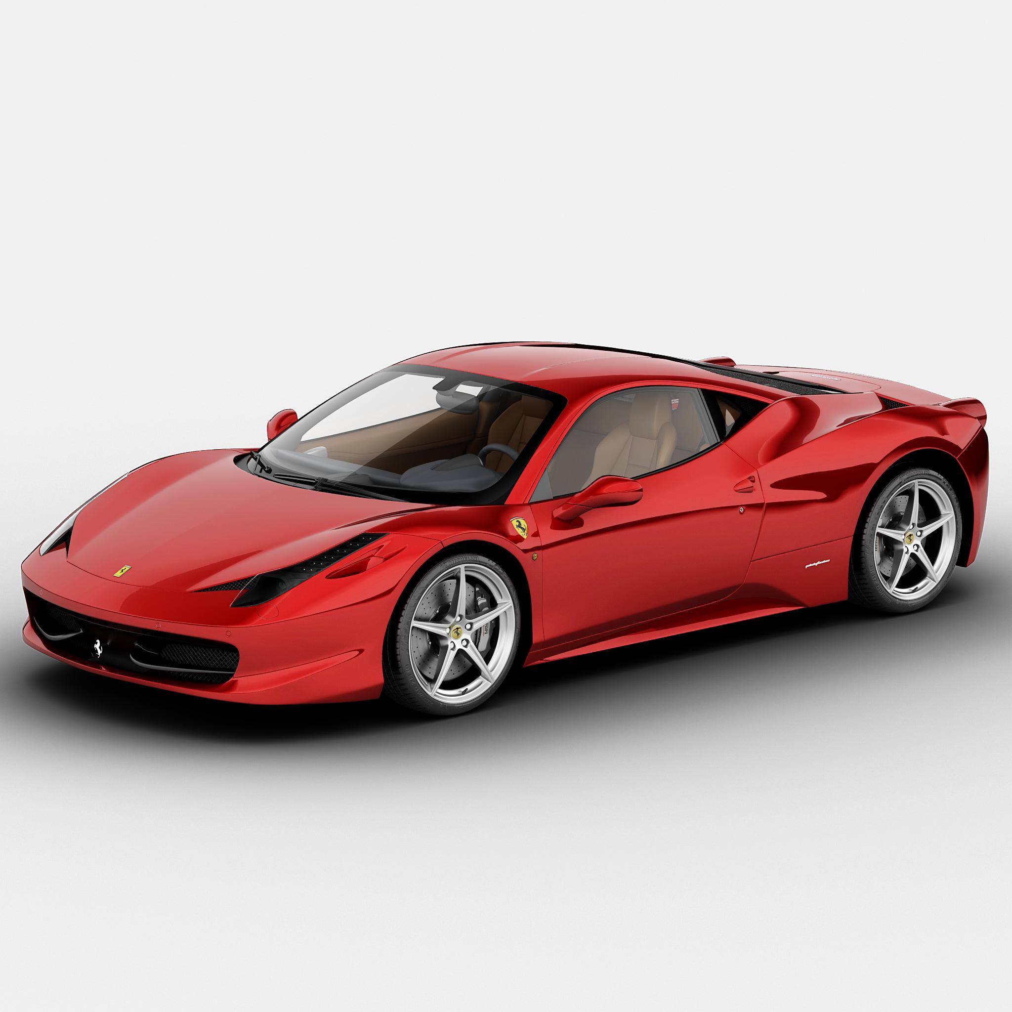 Max Ferrari 458 Italia Scuderia