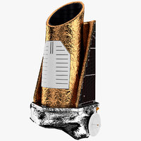 satellite telescope 3D models