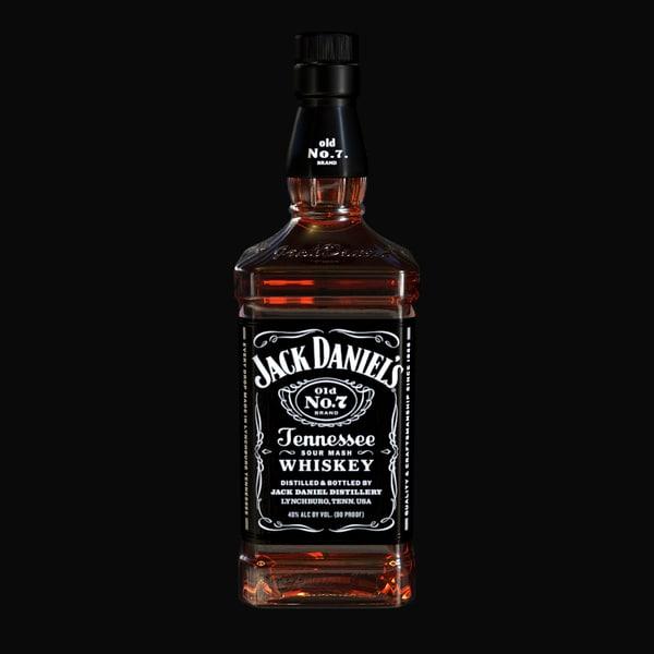 Jack Daniel's 3D Models