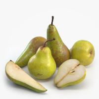 fruit 3D models