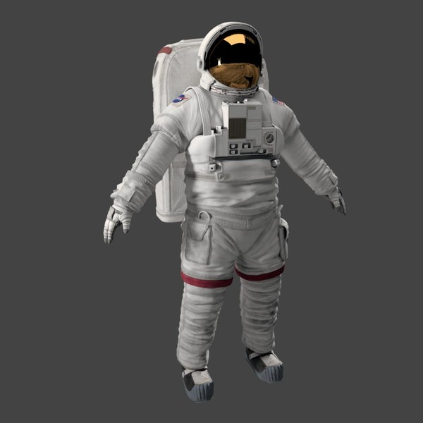 Rigged Astronaut 3D Models