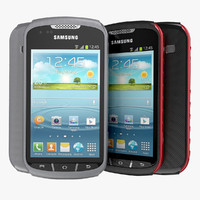Samsung Galaxy XCover 2 3D models