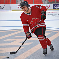 hockey player 3D models