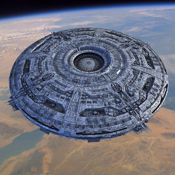 UFO MotherShip 3D Models