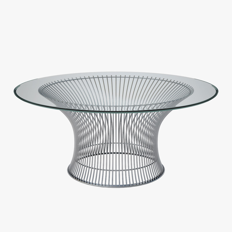 Knoll Platner Coffee Table 3d 3ds