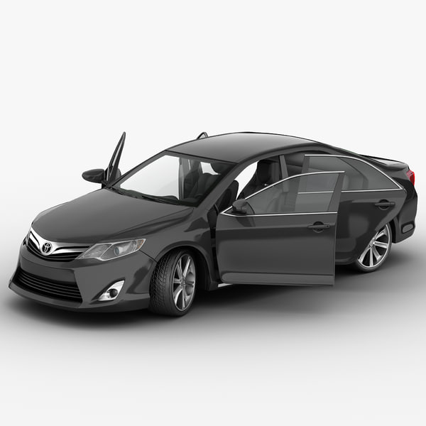 Toyota Camry 2012 Rigged 3D Models