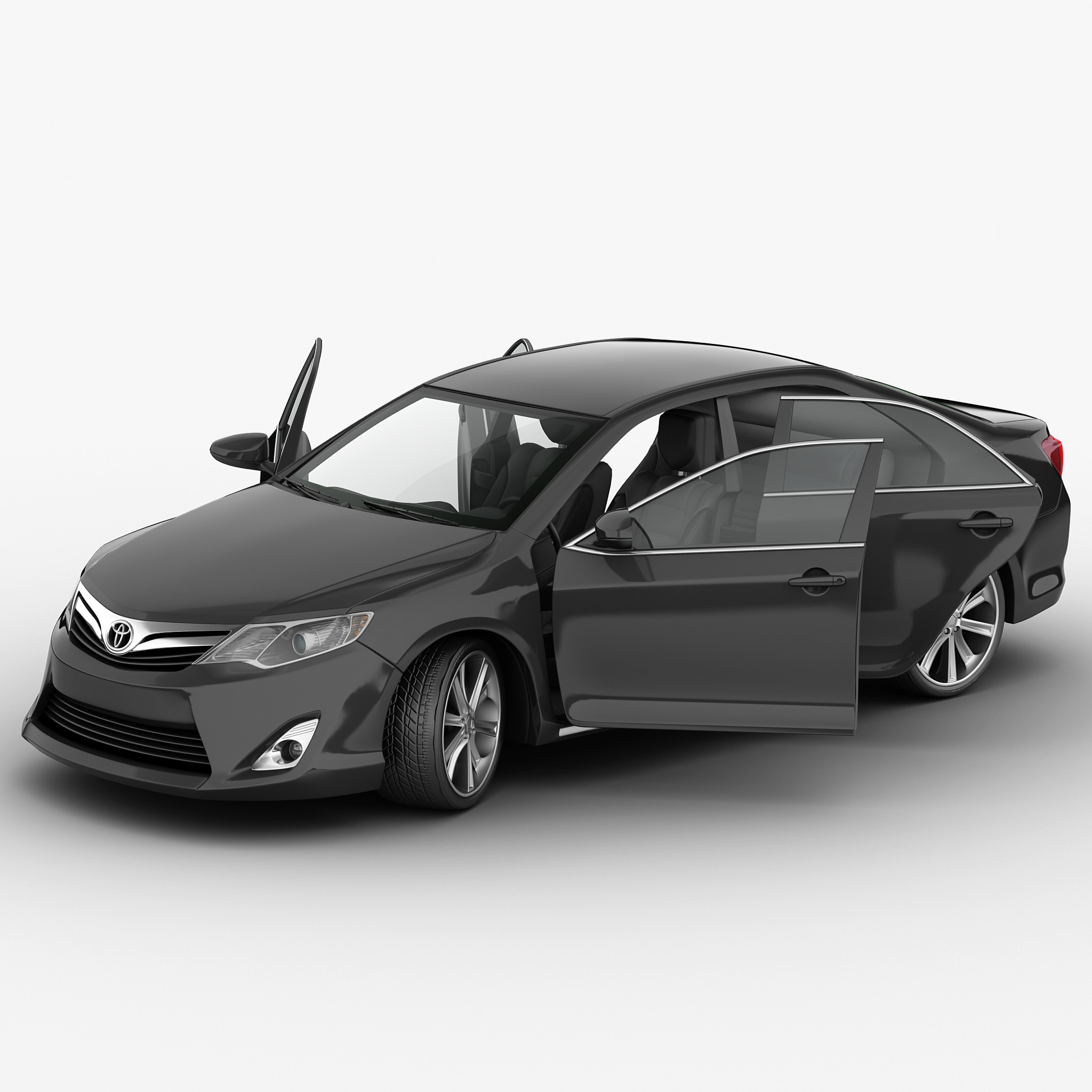 Toyota Camry 2012 Rigged
