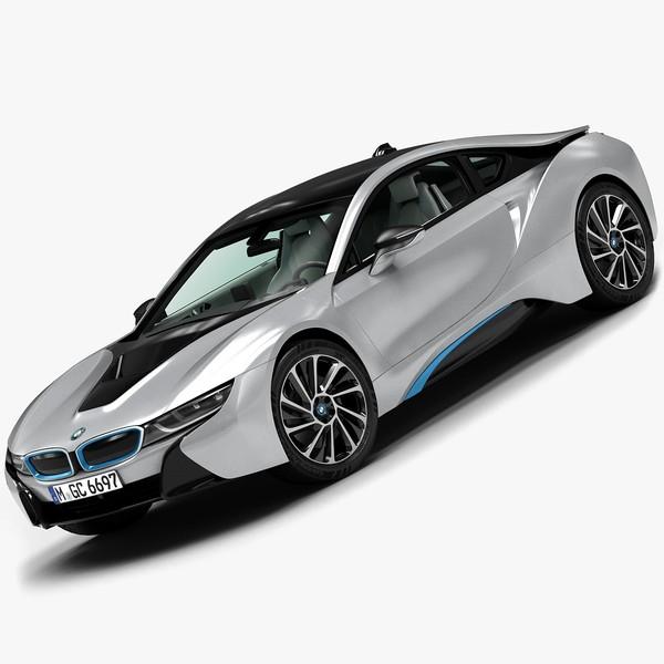 2015 BMW i8 3D Models