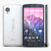 LG Nexus 4 E960 3D models