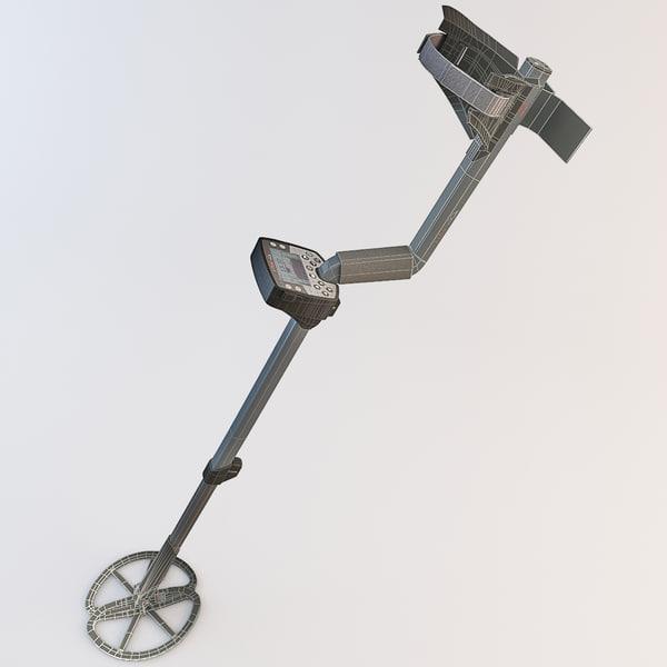 Metal Detector Minelab Etrac 3D Models