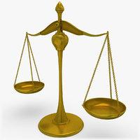 Balance Scale 3D models