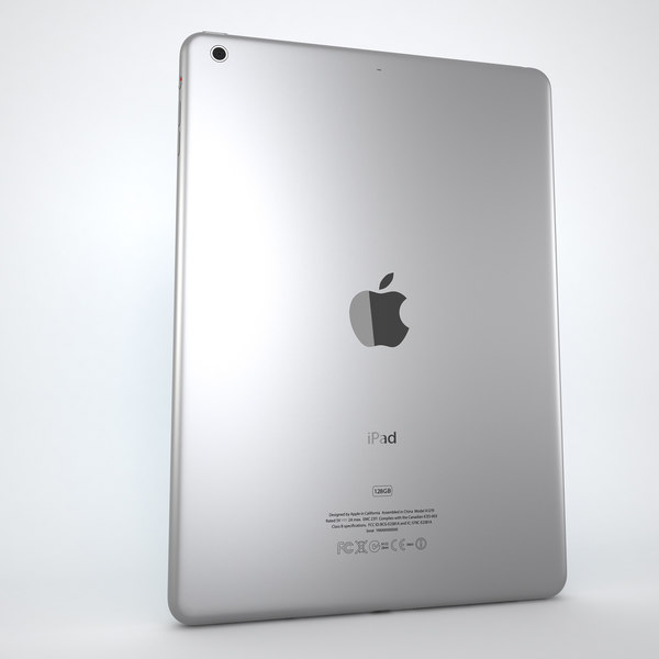 Ipad Air Black + White 3D Models