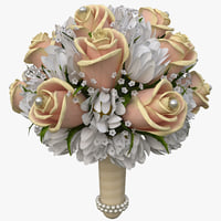 bouquet 3D models