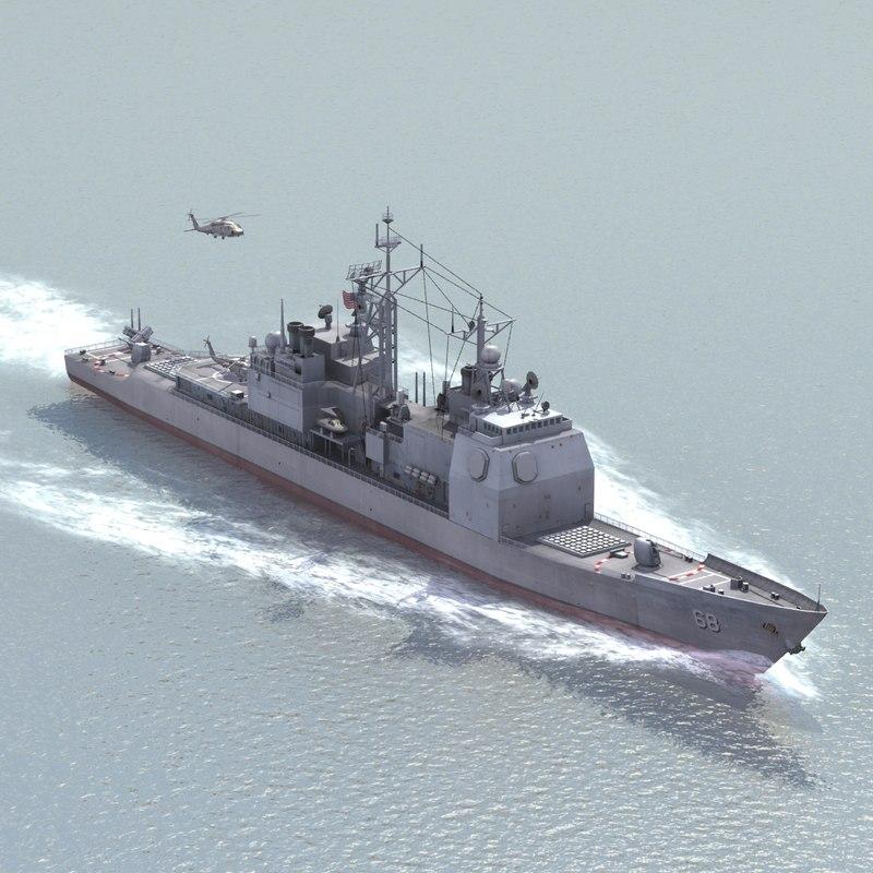 USS Anzio AEGIS CG68