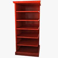 bookcase 3d models