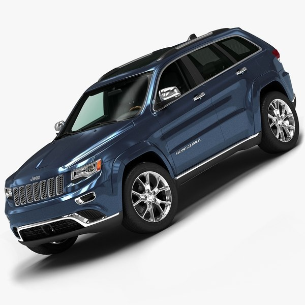 2014 Jeep Grand Cherokee 3D Models