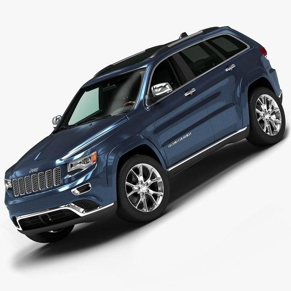 2014 Jeep Grand Cherokee 3D Models