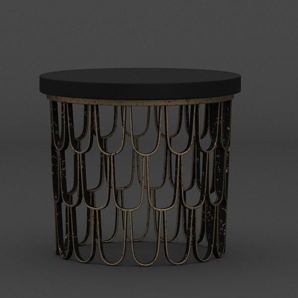 Paul Evans Table 3D Models