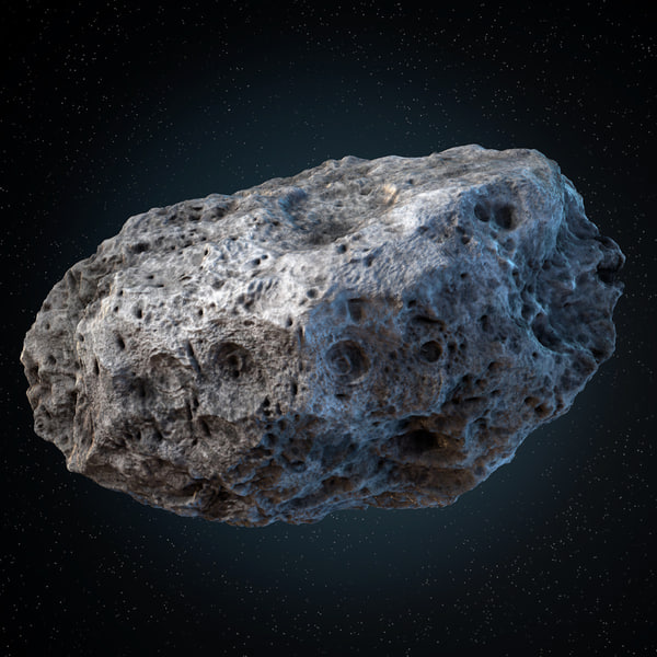 Asteroid 01 3D Models