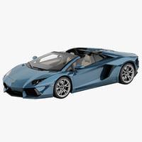 Aventador 3D models