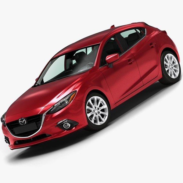 2014 Mazda 3 Hatchback 3D Models